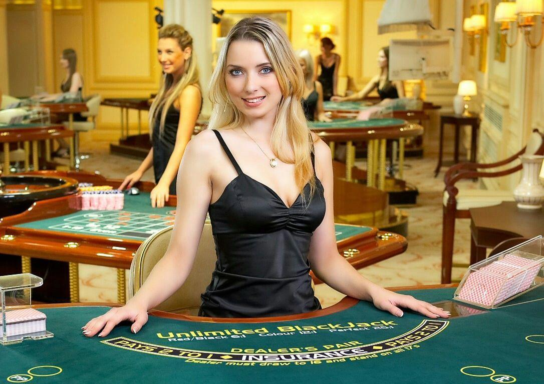 фото С реальными дилерами казино