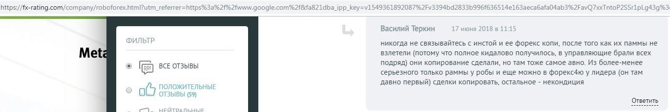 Отзыв Василия Теркина