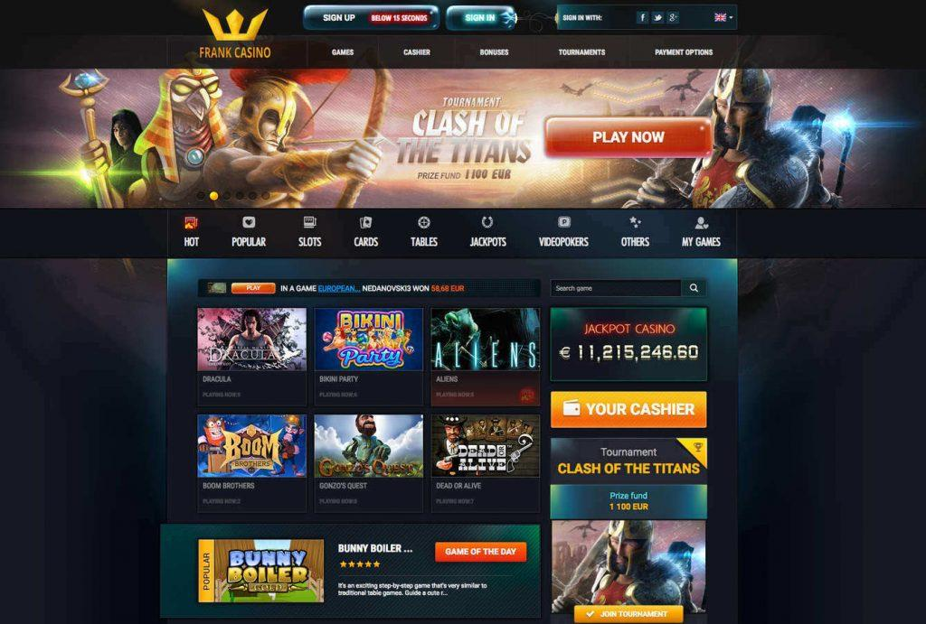 Обзор Франк казино онлайн