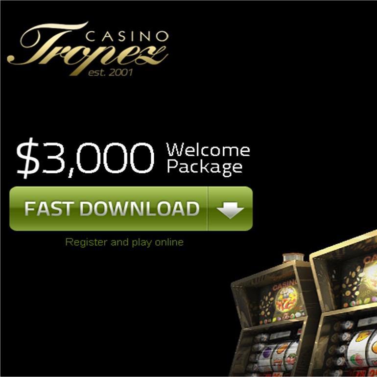 казино тропез бездепозитный бонус