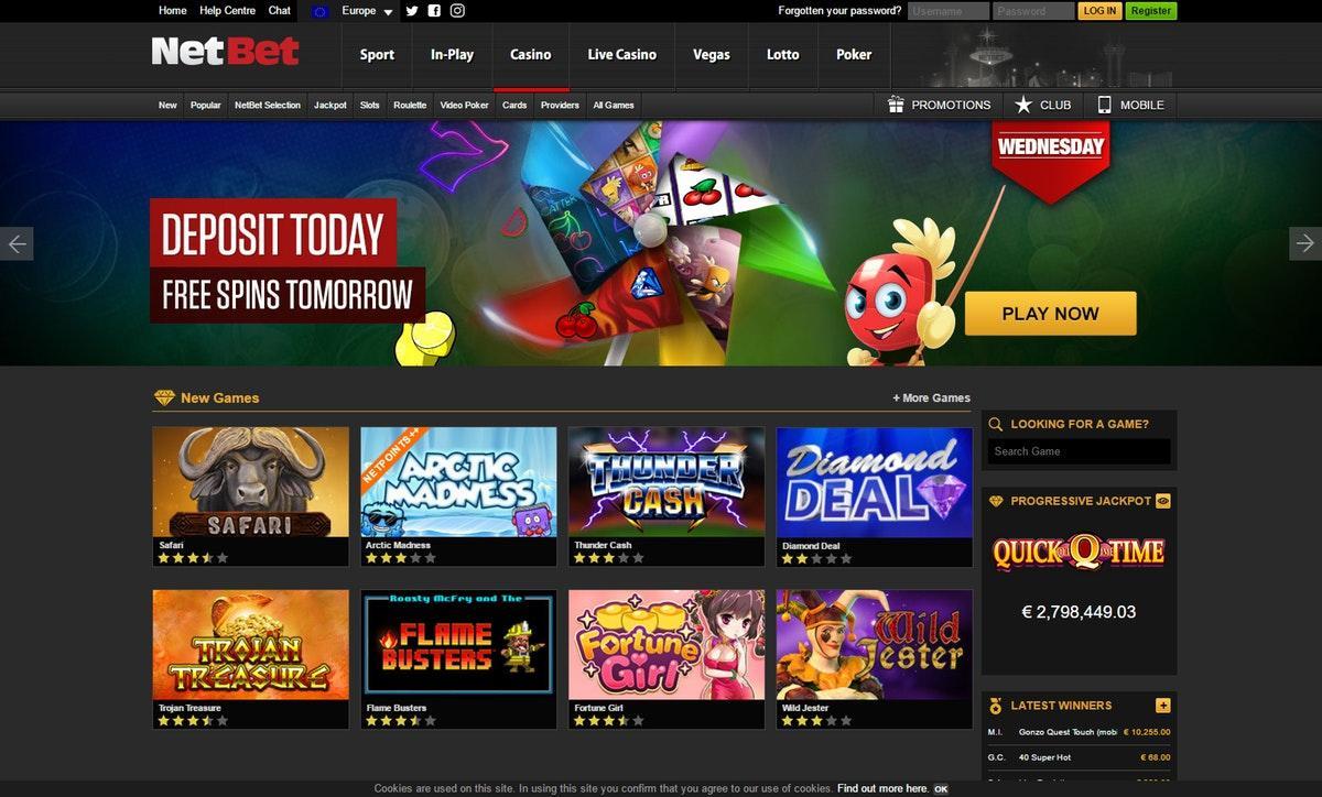 netbet casino download
