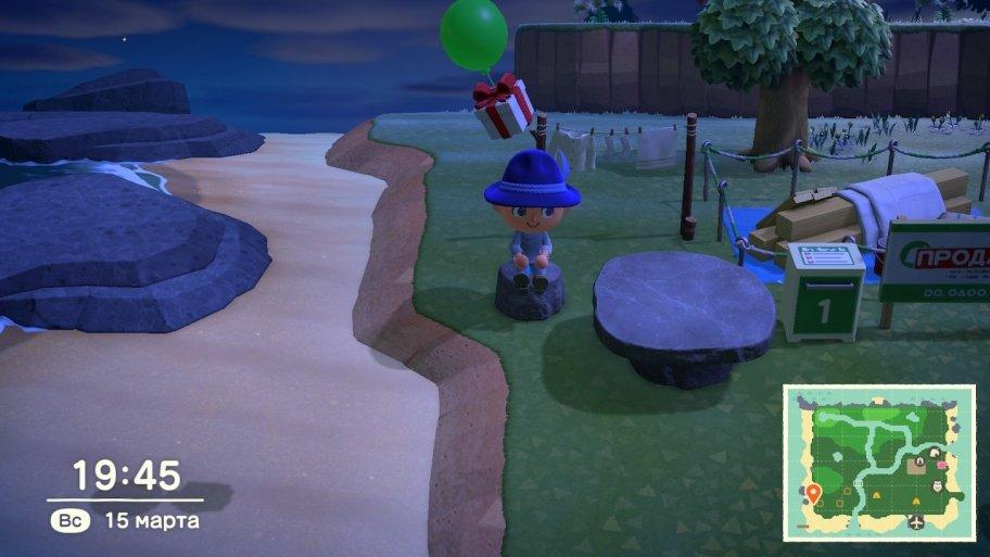 Animal Crossing: New Horizons обзор игры